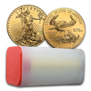 Gold American Eagle Set